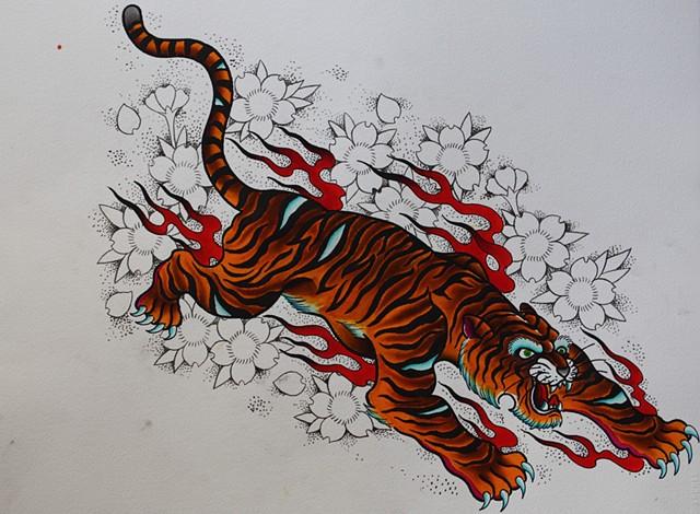 solstice tiger