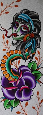 gypsy snake rose