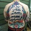 rhode island ship back piece tattoo
