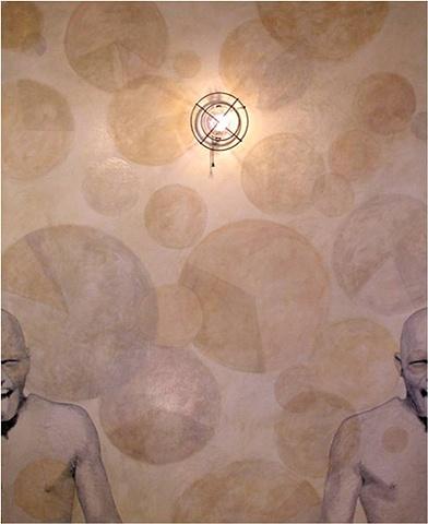 Susan Skrzycki dancer electric light art large circles