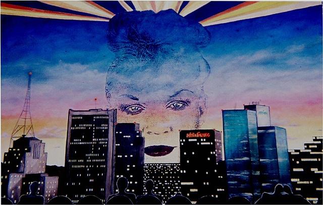 Susan Skrzycki, Phoenix city theater sunset big art painting