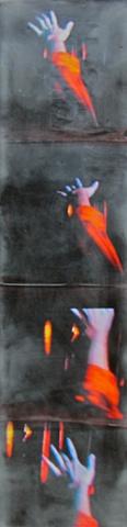 art, panel, hand, surreal, picture, encaustic, susan skrzycki