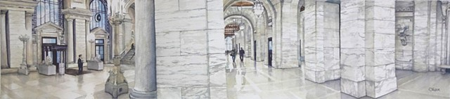 New York Public Library Interior