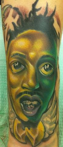 ODB Caricature Tribute Tattoo