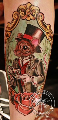 did this at the hell city tattoo convention