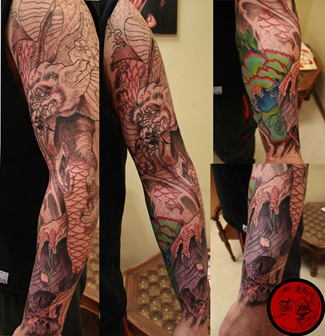 dragon sleeve session 2
