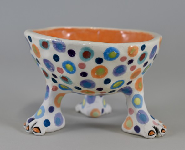 Three Footed Bowl