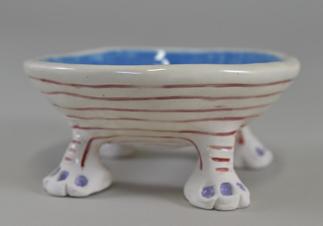 Four Footed Bowl