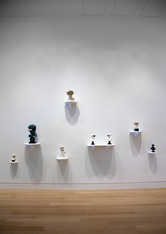 Works from the 'New Ways to See' series at the DePaul Art Museum