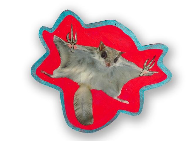 Rise UP! - Flying Squirrel with Sai