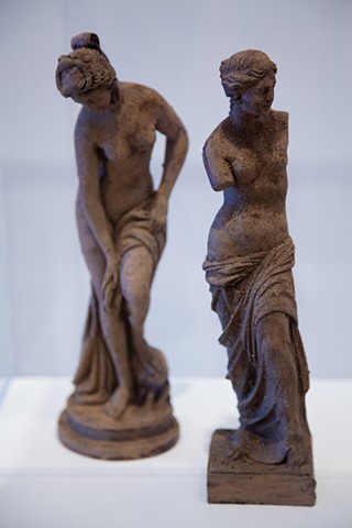 Maquettes for 'Sculpture---> Garden' at The DePaul Art Museum
