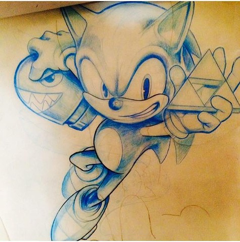 Sonic the Blasphemous hedgehog