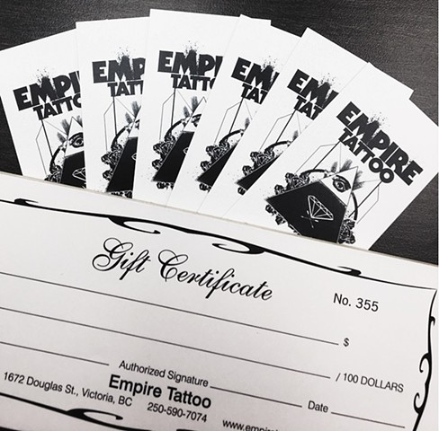Gift Certificates Always Available!