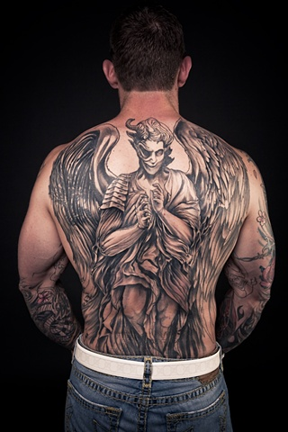 Back piece/cover-up