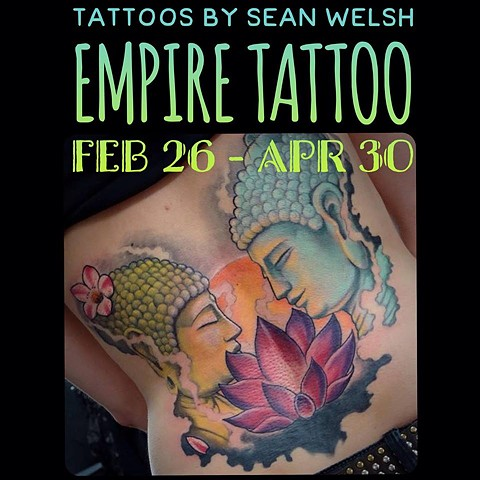 Sean Welsh to Guest at Empire Tattoo