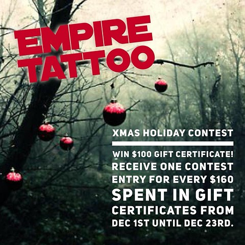 Empire XMAS Holiday contest