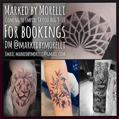 Marked by Morelli to Guest at Empire Tattoo