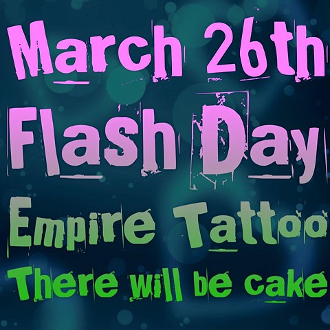March 26th Empire Tattoo Celebrates!