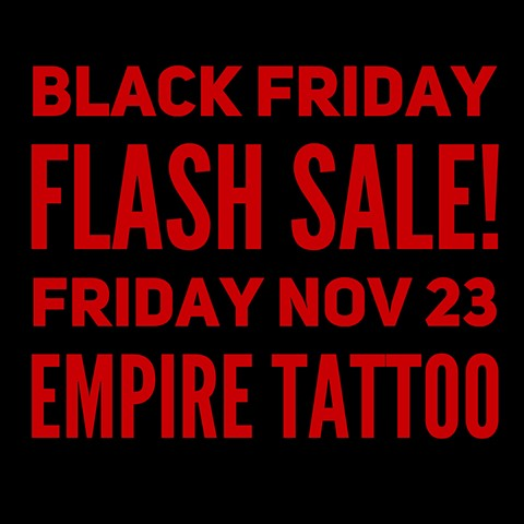 Black Friday Flash Sale!