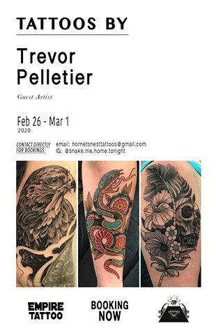 Tattoos by Trevor Pelletier