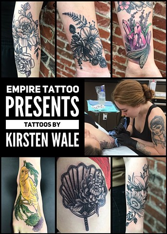 Empire Tattoo Presents Kirsten Wale!