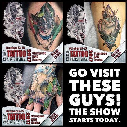 Calgary Tattoo and Arts Festival 2017