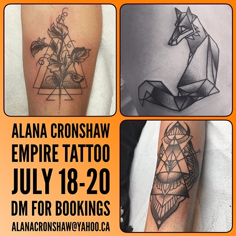 Alana Cronshaw Art and Tattoo