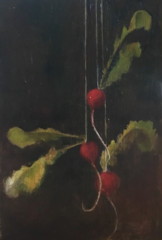 Suspended Radishes