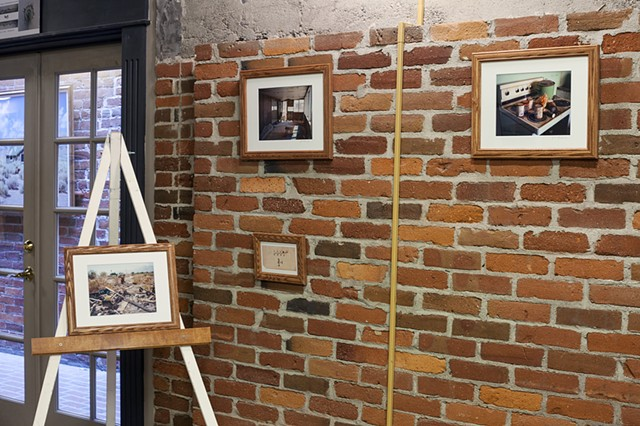 At A Loss, Brick Wall Photographic Gallery