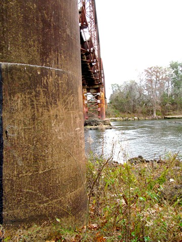 Flint River Train Trestle