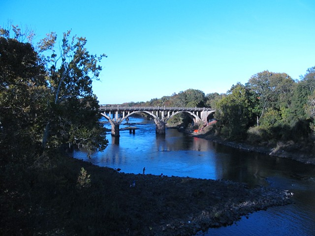 View from Oglethorpe Bridge October