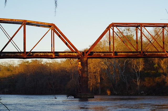 Flint River Trestle.  Albany, GA