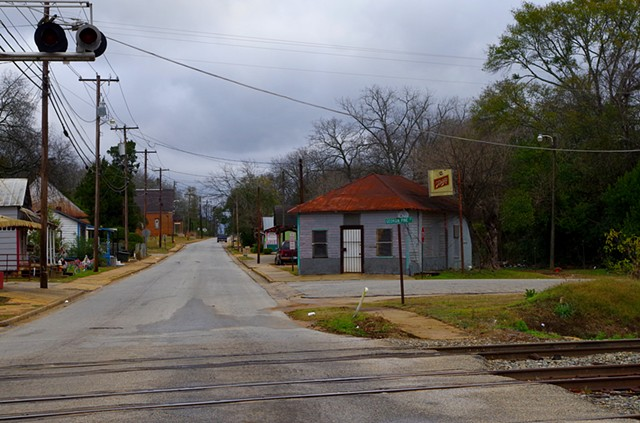 Church Street. (Just Outside) Dowtown Blakely, GA.