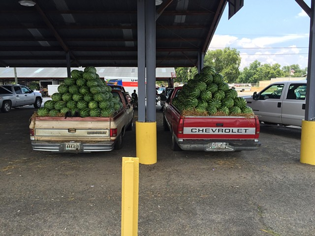 Watermelon Trucks, Cordele, GA