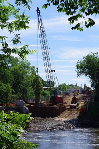 East Bank Cleared for New Bridge Construction