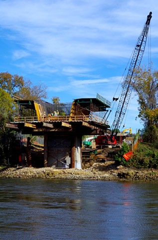 New Bridge Construction East Bank