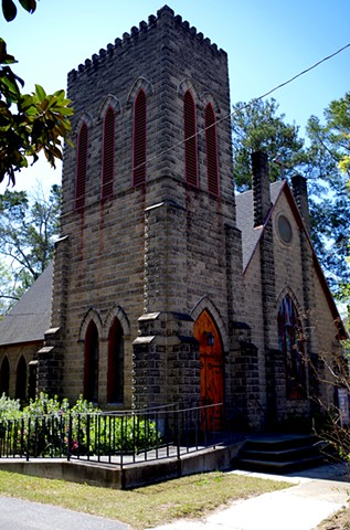 St. Matthews Episcopal Church.  Fitzgerald, GA.