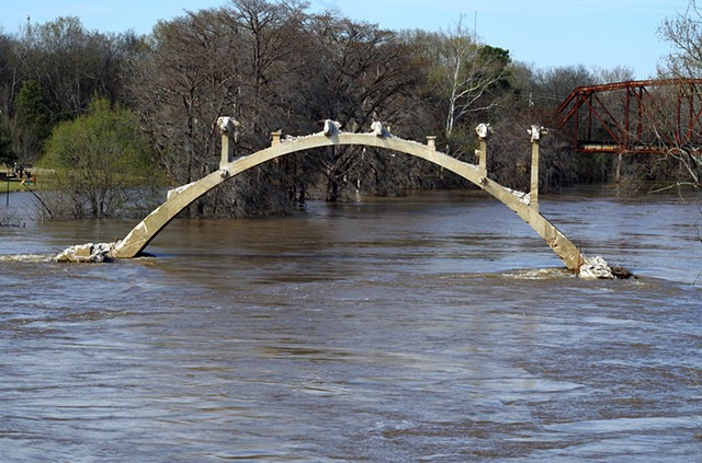 The Remaining Arch During High Water