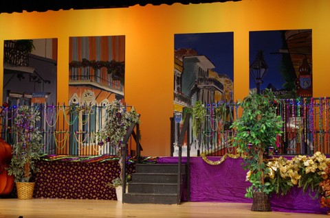 Romeo and Juliet Set Design