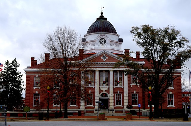 Early County Courthouse. Dowtown Blakely, GA.