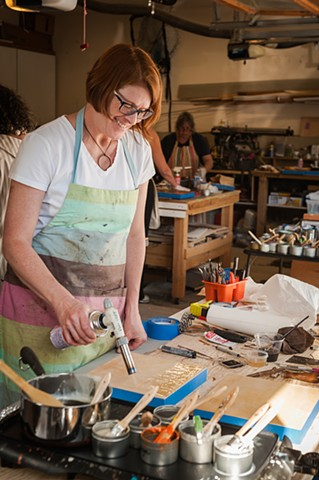 Encaustic Classes and Workshops