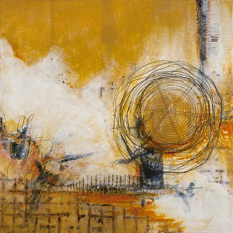 painting, encaustic, beeswax, art, abstract, pam nichols
