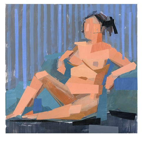 Woman, Seated