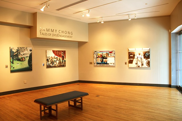 Install View - Carney Gallery - Weston, MA  September 2015