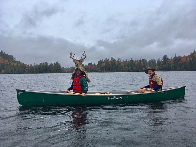 Canoe Fight, Video Still, Lake of Bays/Oxtongue River