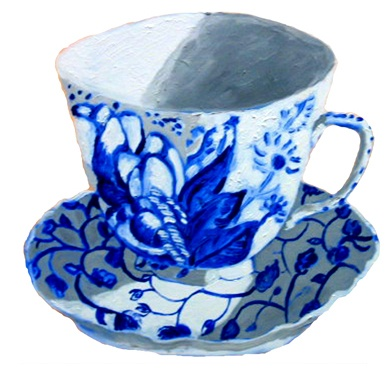 Delft Teacup SOLD