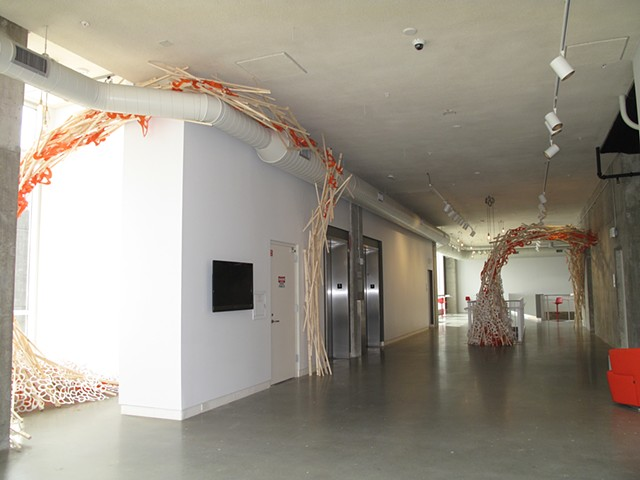 Installation at Urban Institute for Contemporary Art- Grand Rapids MI