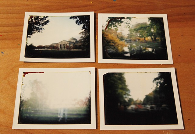 Polaroids from Experimental Photography Course