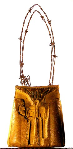 Double Pistol Purse $400. sold 3.15.2014/Area61 @60% $260.