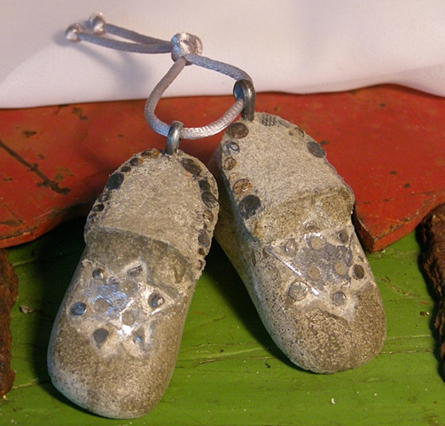 Star of David Wee Slipper Charms CFG @50% 25.00